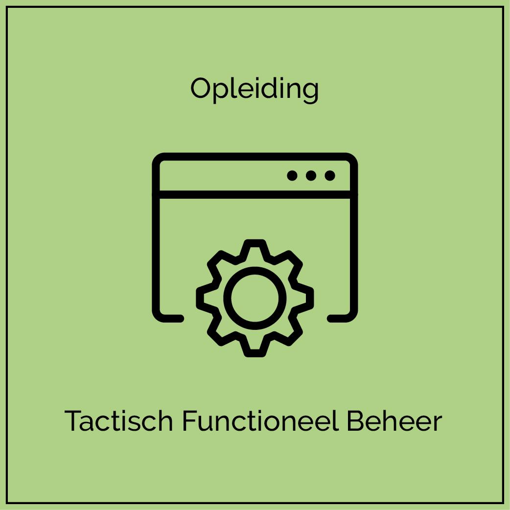 Opleiding icoon FB - Tactisch Functioneel Beheer